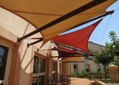 protection solaire voiles d'ombrage